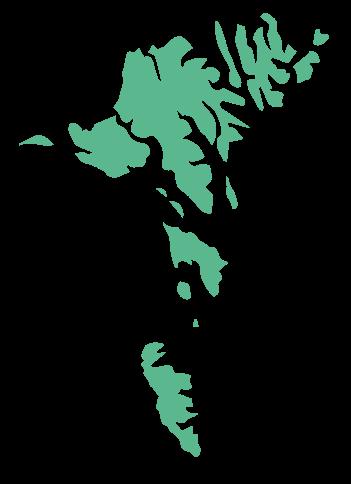 færøerne kort