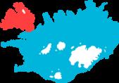 Vestfjordene Island